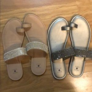Almost NEW sandals x 2